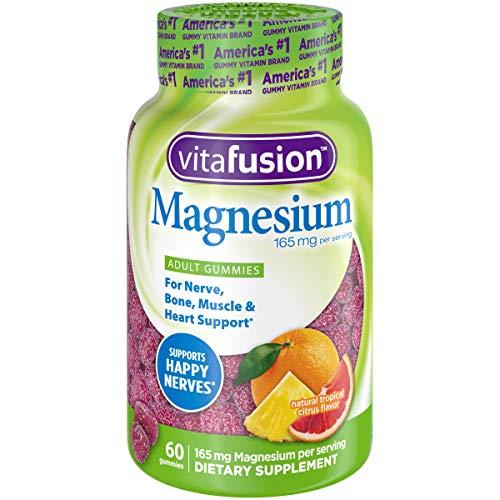 Vitafusion Vitafusion Magnesium Gummy Supplement, 60ct, Citrus, 60 Count