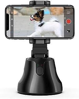 Galapar Estabilizador De Movil Portátil Soporte De Seguimiento De Objetos De 360 Grados Seguimiento Automático De Objetos Y Rostro Cámara De Disparo Inteligente Soporte para Teléfono para Selfies