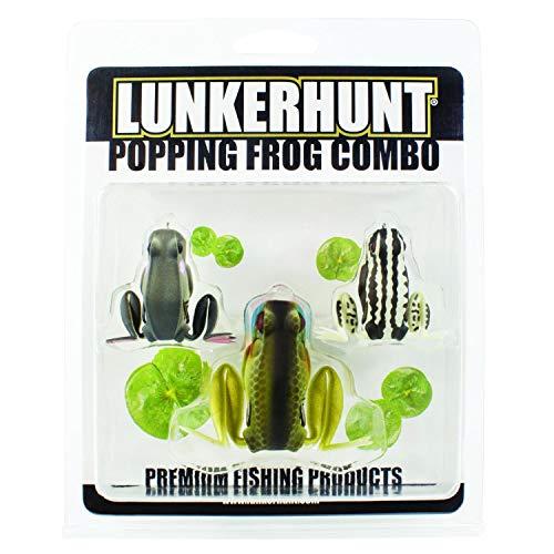 Lunkerhunt Popping Frog Combo - Assortment, Model: PFCOM01