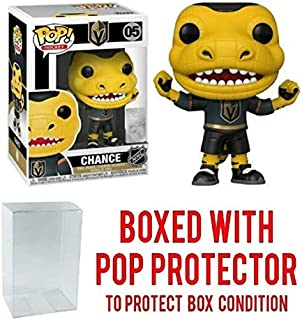 POP! Sports NHL Mascots Chance Gila Monster Las Vegas Golden Knights Action Figure (Bundled with Pop Shield Protector to Protect Display Box)