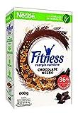 Cereales NESTLÉ Fitness con chocolate negro - Copos de trigo integral, arroz y avena integral...