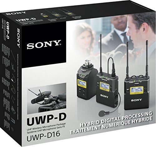 Sony UWP-D16/K33 ENG - Juego de micrófonos inalámbricos