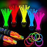 Best HSG Wedding Rings - 100 Pack Colorful Glow Sticks - Great For Review