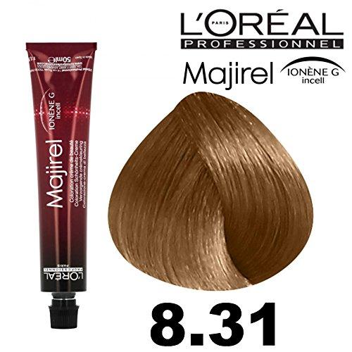 L'Oreal, Majirel 8,31 – Blond Ch. Doré cendre 50 ml.