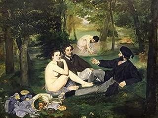 Le dejeuner sur l herbe Poster Print by Edouard Manet (22 x 28)