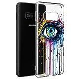 Pnakqil Coque Samsung Galaxy S6, Etui en Silicone 3D Transparente avec Motif Dessin...