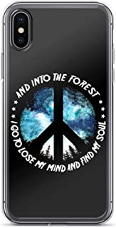 I Go to Lose My Mind and Find My Soul Anti-Scratch Clear Case iPhone X/XS