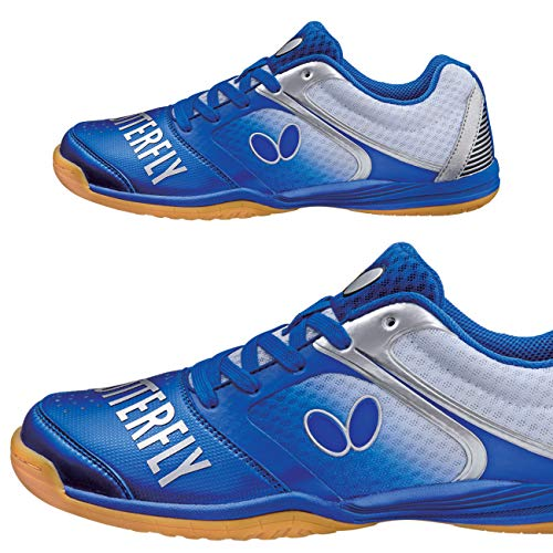 Butterfly Table Tennis Shoes - Groovy - Black, Blue, Navy, Pink, or White - Sizes 4.5 - 12 - Stylish High Performance Ping Pong Shoes