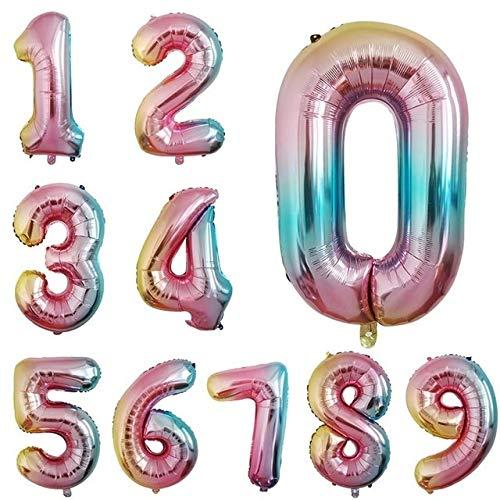 WEIZI 100 globos redondos de látex con forma de bola, para bodas, fiestas de cumpleaños, para niños, para decoración de balones o joyas (color: 1 unidad de 32 pulgadas)
