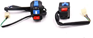 uxcell 2pcs Handlebar Turn Signal Light ON/OFF Control Switch for GY6-125