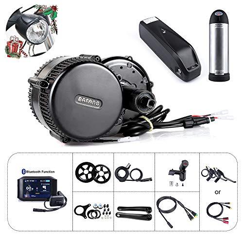 Bafang BBS01B Kit de vélo électrique pour kit de Conversion de Moteur Central 36V 250W / 350W / 500W ou mi-Moteur avec 36V Batterie