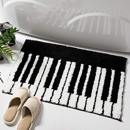SUCSES Piano Key Door Mat, Living Room Bedroom Kitchen Mat Rug, Non-Slip Welcome Doormat, 15.6' x 23.4'