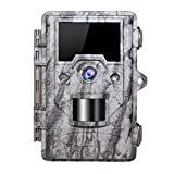OUDMON Trail Game Camera 16MP 1080p 30fps FHD IP67 Wildlife Scouting Hunting Cam...