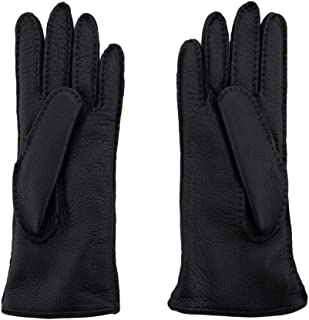 Luxury Fashion   Sermoneta Gloves Womens SG08L8874010 Black Gloves   Season Permanent