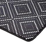 AmazonBasics Bedruckter Schaumstoff-Teppich, gepunktete Linie, 120 x 170 cm - 2