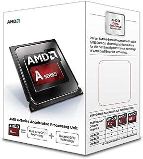 AMD a4–6320デュアルコア(2コア) 3.80GHzプロセッサー–ソケットfm2–1MB–はい–4GHzオーバークロック速度–32NM–AMD Radeon HD 8370dグラフィックス–65...