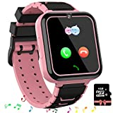 Smooce Kinder Smartwatch Telefon,Spiele Musik Smart Watch für Kinder,Kids Smart Watch mit SOS Anruf...
