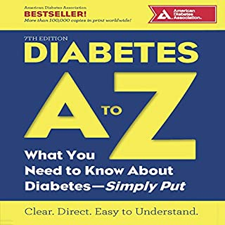 Diabetes A to Z audiobook cover art