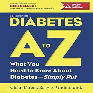 Diabetes A to Z cover art