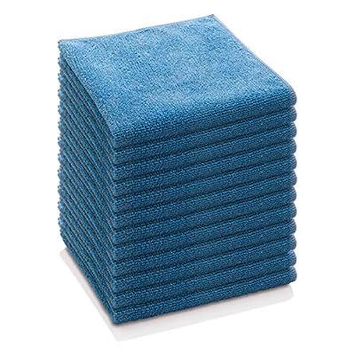 E-Cloth General Purpose Microfiber Cleaning Cloth, Alaskan Blue, 12 Count