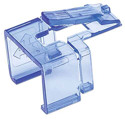 Intellinet 50er-Pack RJ45-Reparaturclips (Zur Reparatur von RJ45-Modularsteckern) transparent blau 771443