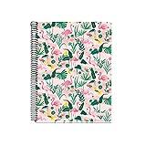 Miquelrius Notebook Grid A5 Flamingo