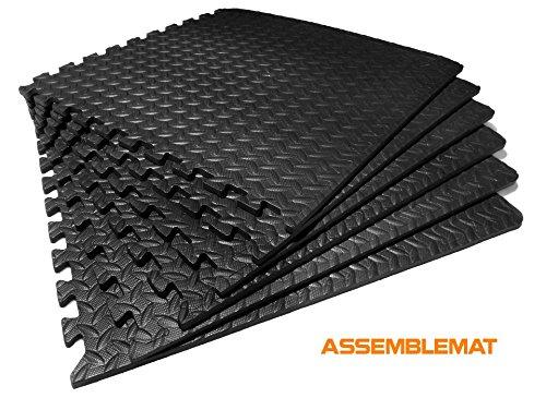 Assemblemat Tapis de Protection de Sol 60 x 60cm...