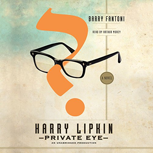 Harry Lipkin, Private Eye audiobook cover art