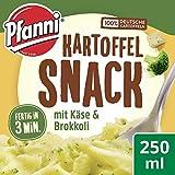 Pfanni Kartoffel Snack mit Käse und Broccoli, 8er Pack (8 x 50 g) (Lebensmittel & Getränke)