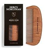 Peine de madera para barba de Percy Nobleman