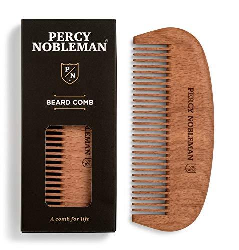 Percy Nobleman Barba Comb–Legno Pettine–handemade (Salute e Bellezza)