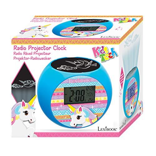 Lexibook RL975UNI Unicorn - Reloj despertador proyector, efectos ...