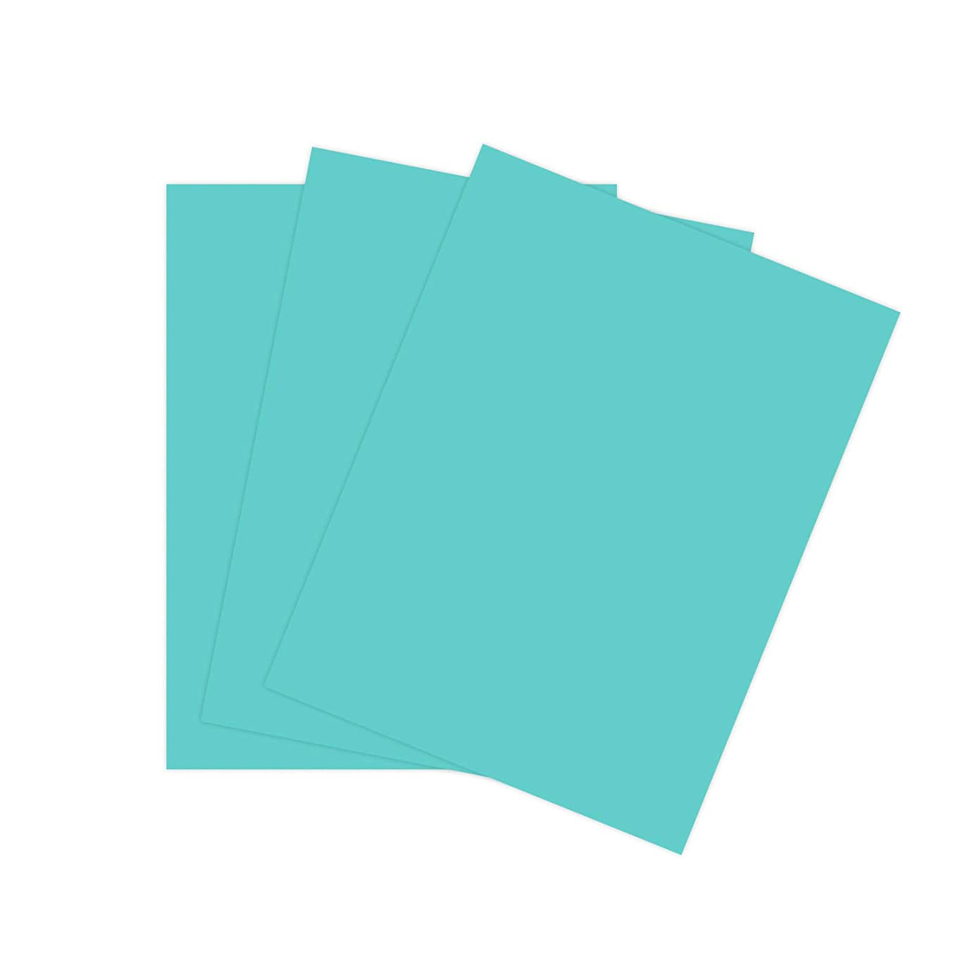 Cardstock Scrapbooking Paper by The Stamps of Life - Ocean Blue 8.5
