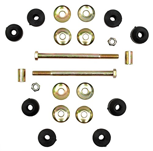 ACDelco Advantage 46G0114A Front Suspension Stabilizer Bar Link Kit with Hardware