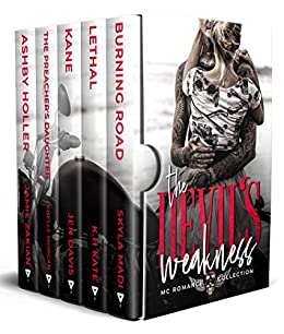 The Devil's Weakness: MC Romance Collection by [Skyla Madi, Jen Davis, K.H. Kate, Shelly Morgan, Jamie Zakian]