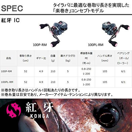 ダイワ(DAIWA)リール紅牙IC100P-RM