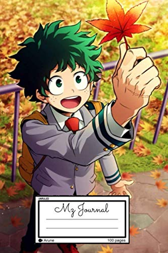 Izuku Midoriya 緑谷出久 : Lined Journal for teens, students, teachers, women and adults, For writing, Drawing, Goals Ideas, Diary, Composition Book: Gift Notebook/Journal (6x9in) (Englisch)