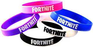 5 Pieces FORTNITE Party Supplies Bracelets Kids Video Game Birthday Party Favors Floss Like a Boss Silicone Wristband for Boys Girls Teens