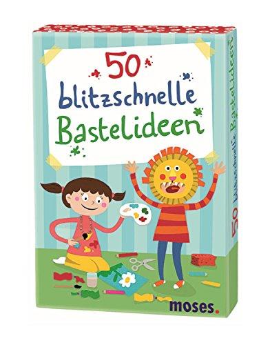 moses. 50 blitzschnelle Bastelideen | Kinderbeschäftigung | Kartenset