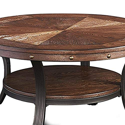 Powell Furniture Franklin Cocktail Table, Small, Multicolor