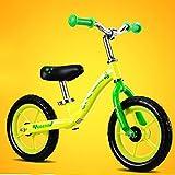 Bicicletas HAIZHEN  Cochecito equilibrio para niños 2-3-6 años Zapatillas de bebé/Juguetes para niños Yo car Deslizador de niño Walker Andador de bebé, Para recién nacido (Color : Amarillo)