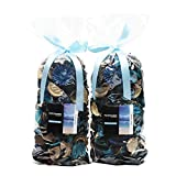 Qingbei Rina Gifts Ocean Scent Fresh Potpourri Bag,Perfume Sachet of Dried Flower Petals,B...