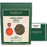 VAHDAM, té negro dorado del Himalaya, 100 gramos (50 tazas)   Hojas de té negro...