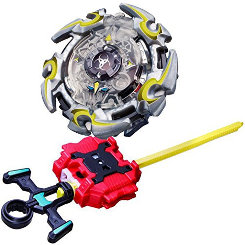 DYT-TOYS Burst Starter BB-82 Starter Booster Alter Chronos.6M.T With Bey Launcher LR Two-Way String Launcher Toy