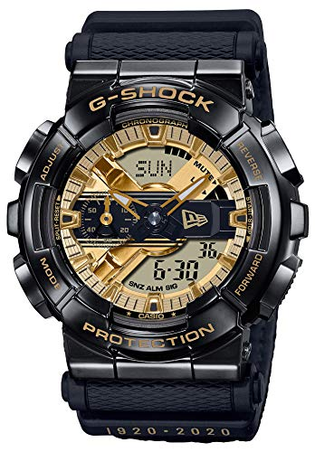 Casio G-Shock By Men's GM110NE-1A Analog-Digital Watch Black/Gold
