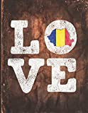 Love: Romania Flag Cute Person...