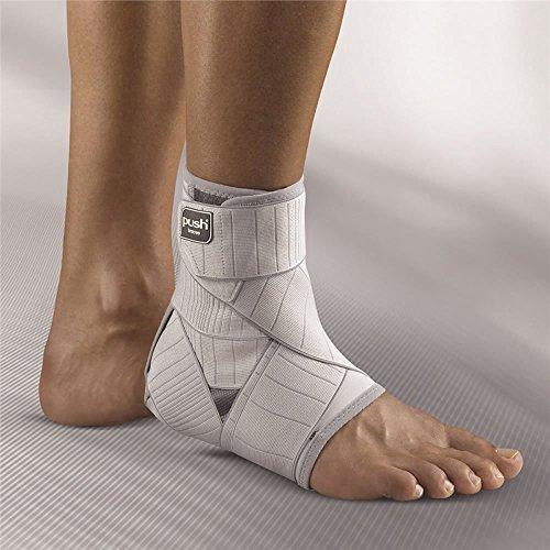 Push Med Knöchelbandage, verstellbar, Achilles-Unterstützung, bequem, Rehabilitation, Fester Sitz an der Ferse, sichere Anwendung, 3x rechts