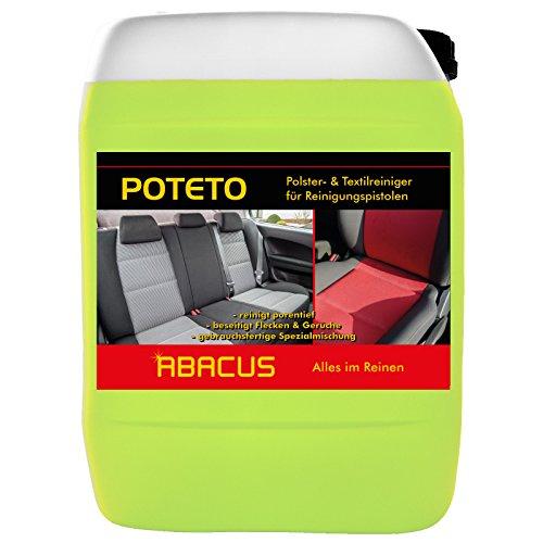 POTETO Tornador-Reiniger 5 Liter Polster- & Textilreiniger gebrauchsfertig (1320.5) - Polsterreiniger Teppichreiniger - ABACUS