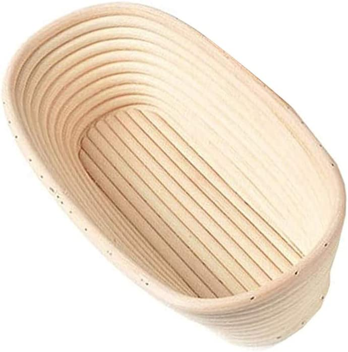 Now free shipping DONGKER Bread NEW before selling ☆ Basket Baking Bowl Ba Proofing