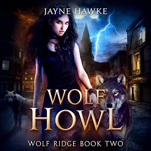 Wolf Howl audiobook cover art